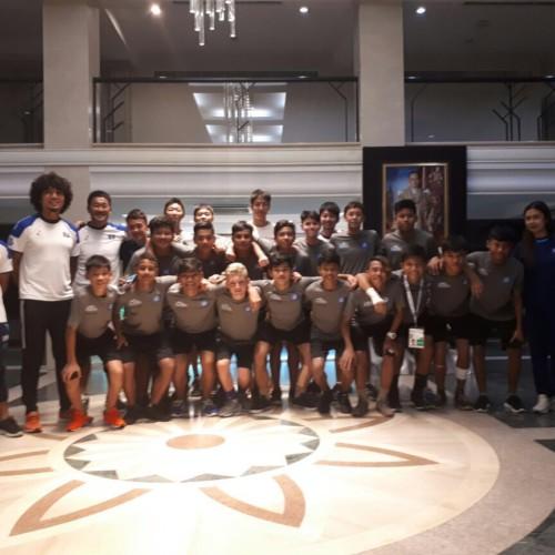 AFC U16 Championship in Thai 帯同レポート